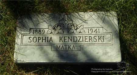 BURKOWSKI KENDZIERSKI, SOPHIA - Lucas County, Ohio | SOPHIA BURKOWSKI KENDZIERSKI - Ohio Gravestone Photos