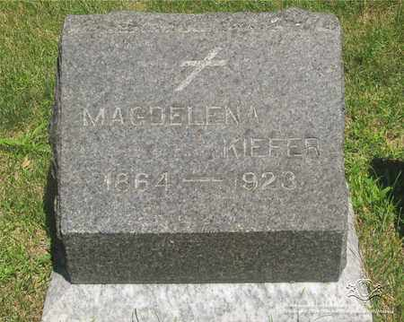 KIEFER, MAGDELENA - Lucas County, Ohio | MAGDELENA KIEFER - Ohio Gravestone Photos