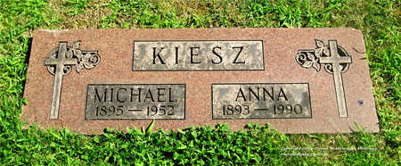 WOZNIAK KIESZ, ANNA - Lucas County, Ohio | ANNA WOZNIAK KIESZ - Ohio Gravestone Photos