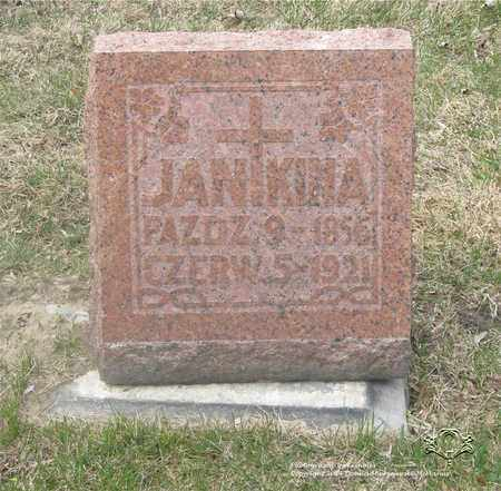KINA, JAN - Lucas County, Ohio | JAN KINA - Ohio Gravestone Photos