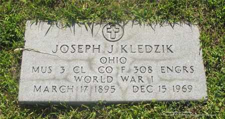 KLEDZIK, JOSEPH J. - Lucas County, Ohio | JOSEPH J. KLEDZIK - Ohio Gravestone Photos