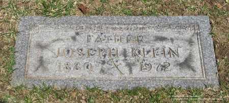 KLEIN, JOSEPH - Lucas County, Ohio | JOSEPH KLEIN - Ohio Gravestone Photos