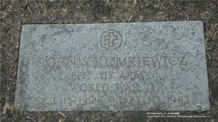 KLIMKIEWICZ, JOHN S. - Lucas County, Ohio | JOHN S. KLIMKIEWICZ - Ohio Gravestone Photos