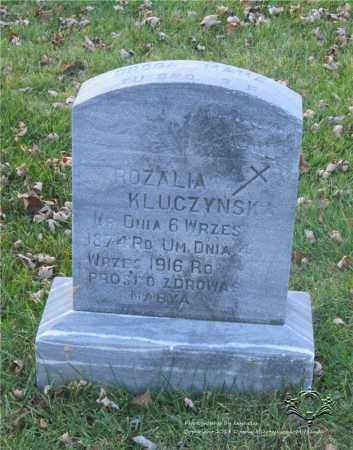 KLUCZYNSKI, ROZALIA - Lucas County, Ohio | ROZALIA KLUCZYNSKI - Ohio Gravestone Photos