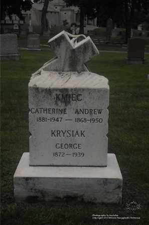 KRYSIAK KMIEC, CATHERINE - Lucas County, Ohio | CATHERINE KRYSIAK KMIEC - Ohio Gravestone Photos