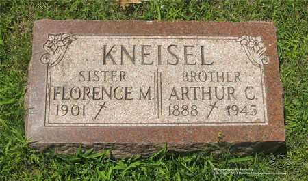 KNEISEL, ARTHUR C. - Lucas County, Ohio | ARTHUR C. KNEISEL - Ohio Gravestone Photos