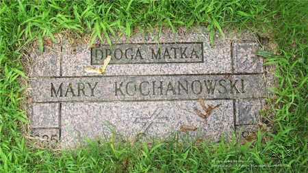 KEDZIORA KOCHANOWSKI, MARY - Lucas County, Ohio | MARY KEDZIORA KOCHANOWSKI - Ohio Gravestone Photos