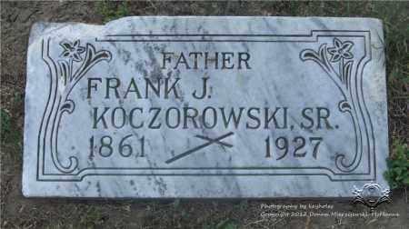 KOCZOROWSKI, FRANK J. - Lucas County, Ohio | FRANK J. KOCZOROWSKI - Ohio Gravestone Photos