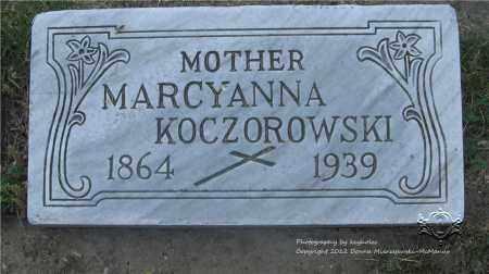 ADAMCZAK KOCZOROWSKI, MARCYANNA - Lucas County, Ohio | MARCYANNA ADAMCZAK KOCZOROWSKI - Ohio Gravestone Photos