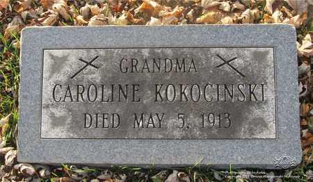 KOKOCINSKI, CAROLINE - Lucas County, Ohio | CAROLINE KOKOCINSKI - Ohio Gravestone Photos