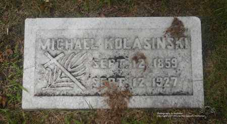 KOLASINSKI, MICHAEL - Lucas County, Ohio | MICHAEL KOLASINSKI - Ohio Gravestone Photos
