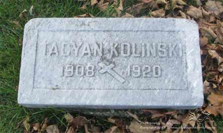 KOLINSKI, TACYAN - Lucas County, Ohio | TACYAN KOLINSKI - Ohio Gravestone Photos