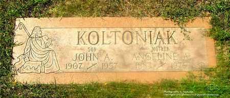 KOLTONIAK, JOHN A. - Lucas County, Ohio | JOHN A. KOLTONIAK - Ohio Gravestone Photos
