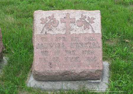 KONCZAL, JADWIGA - Lucas County, Ohio | JADWIGA KONCZAL - Ohio Gravestone Photos