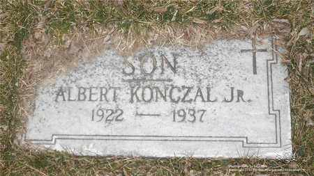 KONCZAL, ALBERT - Lucas County, Ohio | ALBERT KONCZAL - Ohio Gravestone Photos