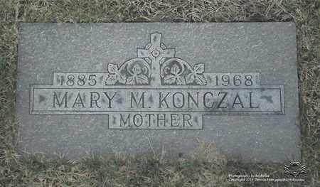 KONCZAL, MARY M. - Lucas County, Ohio | MARY M. KONCZAL - Ohio Gravestone Photos