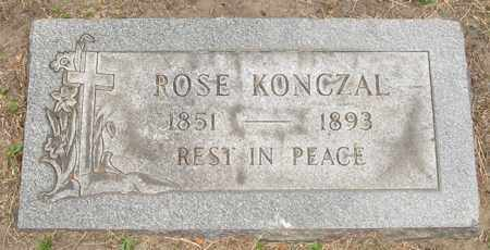 KONCZAL, ROSE - Lucas County, Ohio | ROSE KONCZAL - Ohio Gravestone Photos