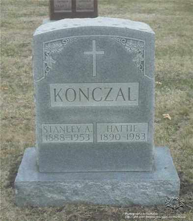 KONCZAL, HATTIE - Lucas County, Ohio | HATTIE KONCZAL - Ohio Gravestone Photos