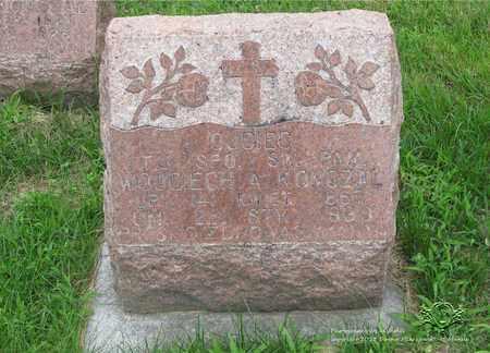 KONCZAL, WOJCIECH A. - Lucas County, Ohio   WOJCIECH A. KONCZAL - Ohio Gravestone Photos