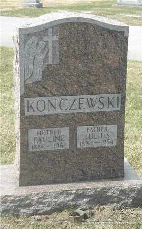 KONCZEWSKI, JULIUS - Lucas County, Ohio | JULIUS KONCZEWSKI - Ohio Gravestone Photos