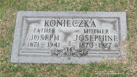 KONIECZKA, JOSEPHINE - Lucas County, Ohio | JOSEPHINE KONIECZKA - Ohio Gravestone Photos
