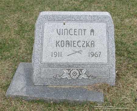 KONIECZKA, VINCENT A. - Lucas County, Ohio | VINCENT A. KONIECZKA - Ohio Gravestone Photos