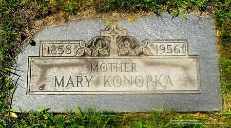 KONOPKA, MARY - Lucas County, Ohio | MARY KONOPKA - Ohio Gravestone Photos