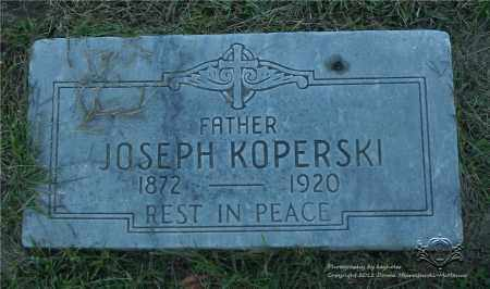 KOPERSKI, JOSEPH - Lucas County, Ohio | JOSEPH KOPERSKI - Ohio Gravestone Photos