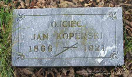 KOPERSKI, JAN - Lucas County, Ohio | JAN KOPERSKI - Ohio Gravestone Photos