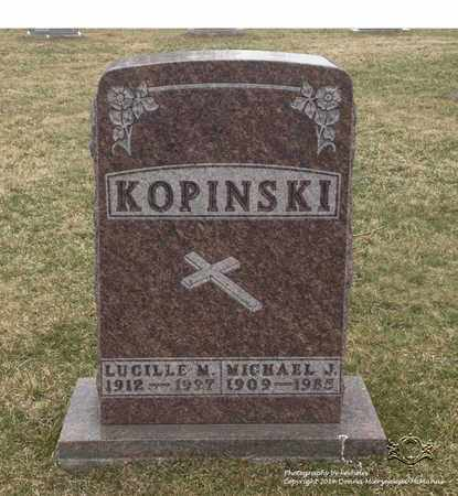 KOPINSKI, MICHAEL J. - Lucas County, Ohio | MICHAEL J. KOPINSKI - Ohio Gravestone Photos