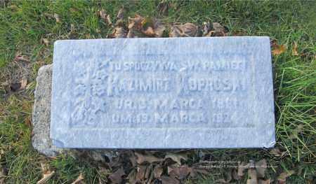 KOPROWSKI, KAZMIERZ - Lucas County, Ohio | KAZMIERZ KOPROWSKI - Ohio Gravestone Photos