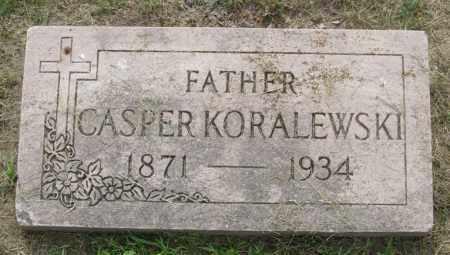 KORALEWSKI, CASPER - Lucas County, Ohio | CASPER KORALEWSKI - Ohio Gravestone Photos