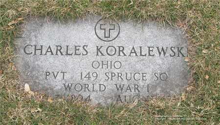 KORALEWSKI, CHARLES - Lucas County, Ohio | CHARLES KORALEWSKI - Ohio Gravestone Photos