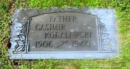 KORALEWSKI, CASIMIR - Lucas County, Ohio | CASIMIR KORALEWSKI - Ohio Gravestone Photos