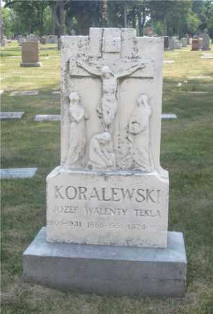KORALEWSKI, WALENTY - Lucas County, Ohio | WALENTY KORALEWSKI - Ohio Gravestone Photos