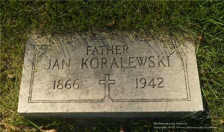 KORALEWSKI, JAN - Lucas County, Ohio | JAN KORALEWSKI - Ohio Gravestone Photos