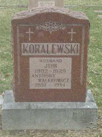 KORALEWSKI, JOHN - Lucas County, Ohio | JOHN KORALEWSKI - Ohio Gravestone Photos