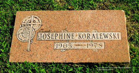 SUSKI KORALEWSKI, JOSEPHINE - Lucas County, Ohio | JOSEPHINE SUSKI KORALEWSKI - Ohio Gravestone Photos