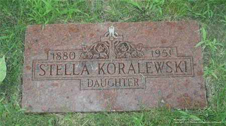 KORALEWSKI, STELLA - Lucas County, Ohio | STELLA KORALEWSKI - Ohio Gravestone Photos
