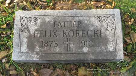 KORECKI, FELIX - Lucas County, Ohio | FELIX KORECKI - Ohio Gravestone Photos