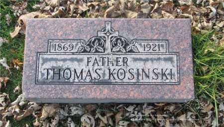 KOSINSKI, THOMAS - Lucas County, Ohio | THOMAS KOSINSKI - Ohio Gravestone Photos