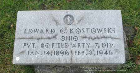 CUSTER, EDWARD C. - Lucas County, Ohio | EDWARD C. CUSTER - Ohio Gravestone Photos