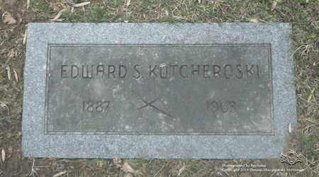 KOTCHEROSKI, EDWARD S. - Lucas County, Ohio | EDWARD S. KOTCHEROSKI - Ohio Gravestone Photos
