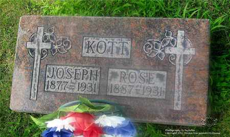 BOBAK KOTT, ROSE - Lucas County, Ohio | ROSE BOBAK KOTT - Ohio Gravestone Photos