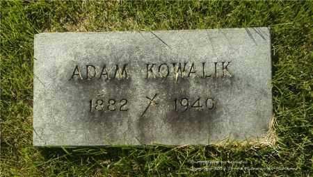KOWALIK, ADAM - Lucas County, Ohio | ADAM KOWALIK - Ohio Gravestone Photos