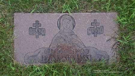 KOWALSKI, FRANK - Lucas County, Ohio | FRANK KOWALSKI - Ohio Gravestone Photos
