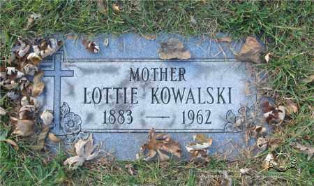 KOWALSKI, LOTTIE - Lucas County, Ohio | LOTTIE KOWALSKI - Ohio Gravestone Photos