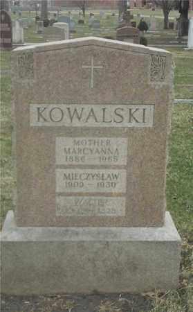 KOWALSKI, WALTER - Lucas County, Ohio | WALTER KOWALSKI - Ohio Gravestone Photos