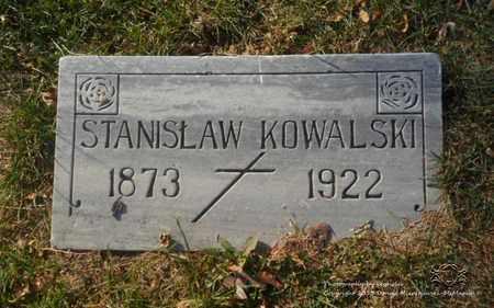 KOWALSKI, STANISLAW - Lucas County, Ohio | STANISLAW KOWALSKI - Ohio Gravestone Photos