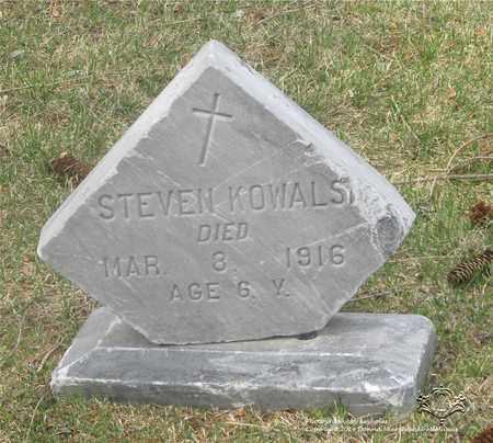 KOWALSKI, STEVEN - Lucas County, Ohio | STEVEN KOWALSKI - Ohio Gravestone Photos